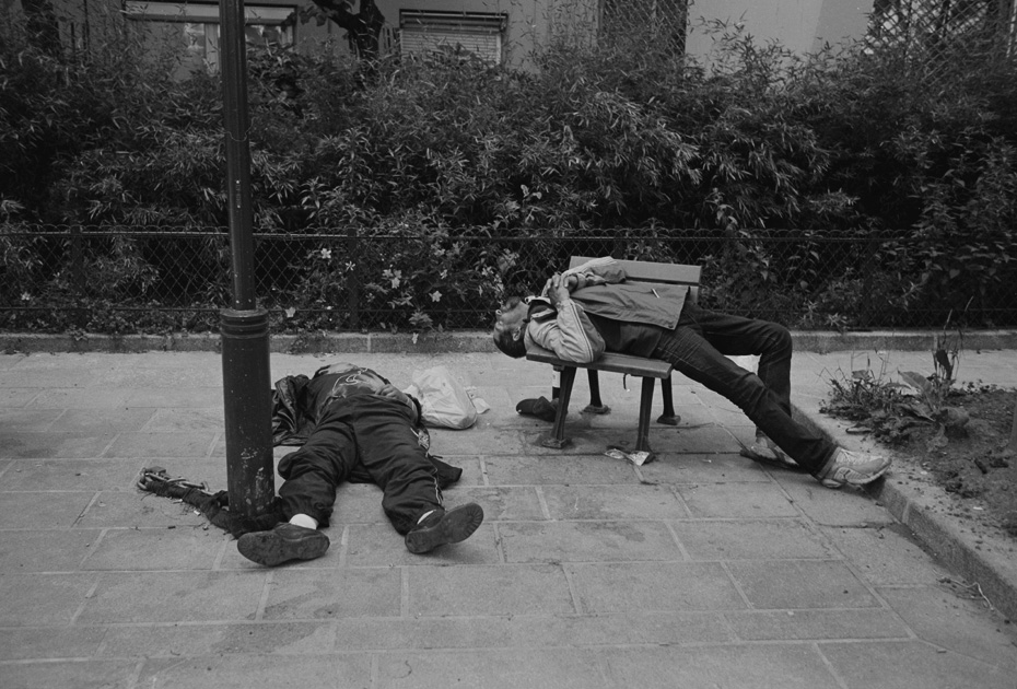 two tramps paris